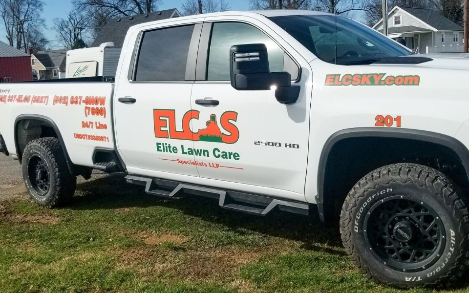 ELCS Lawn Care Truck